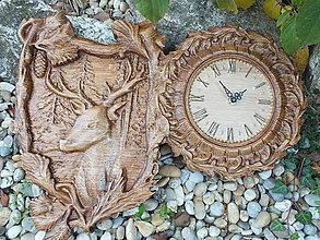 Hodiny - hodiny - Jeleň - 11193113_