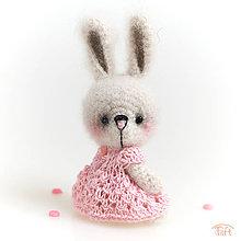 Hračky - mini-zajačik - 11194905_