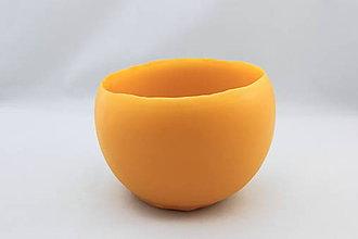 Svietidlá a sviečky - Svietnik zo včelieho vosku - 11192825_