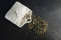 - čaj vetropud v háčkovanej taštičke - 11194098_