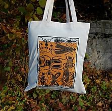 Nákupné tašky - taška chrobáky - 11194793_