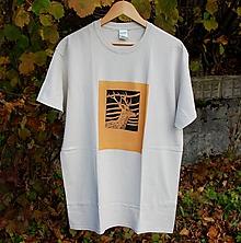 Tričká - pánske tričko jeleň L - 11194983_