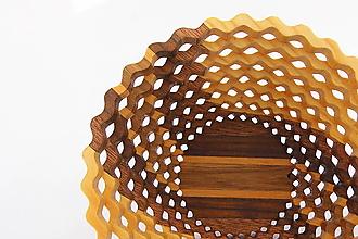 Nádoby - Drevená miska 15cm - 11193384_