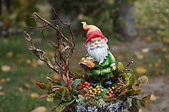Jesenná dekorácia - Trpaslík