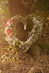 - Srdce na hrob v ružovej farbe - 11195279_