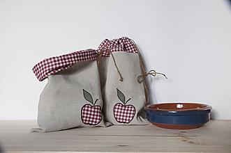Úžitkový textil - Na jabĺčka sušené - 11194966_
