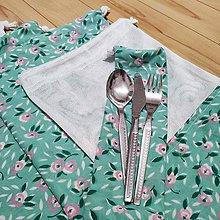 Úžitkový textil - Zero waste sada na nákup - 5+1 - 11192815_