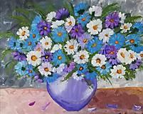 Obrazy - Kvety vo váze - 11193141_