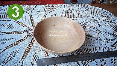 Nádoby - Miska z dreva č.3 (Orech) - 11193032_