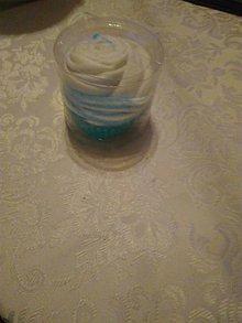 Drobnosti - cupcake- tortovè plienky (Modrá) - 11195321_