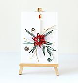 Papiernictvo - vianočná pohľadnica - 11195389_