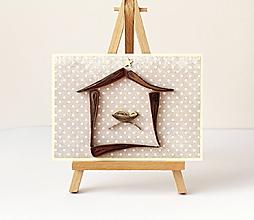 Papiernictvo - vianočná pohľadnica - 11195438_
