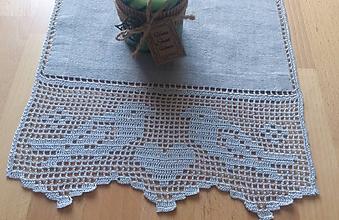 Úžitkový textil - *** Ľanová štóla vo vidieckom štýle *** - 11197167_