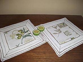 Úžitkový textil - *** s vôňou olivy - malé prestieranie*** - 11197403_