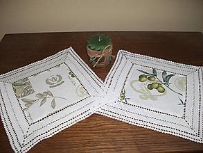 Úžitkový textil - *** s vôňou olivy - malé prestieranie*** - 11197409_