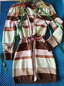 Svetre/Pulóvre - Sale! Pletený sveter z 89 eur na 69! - 11196499_