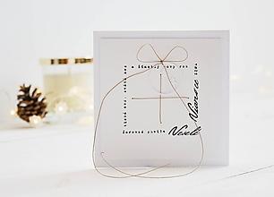 Papiernictvo - Vianočný pozdrav - darček z vianočných textov - 11197342_