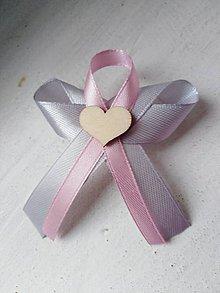 Pierka - Ružové svadobné pierko - 11197985_