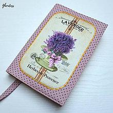 Papiernictvo - Univerzální obal na knihu - Herbes de Provence - 11196738_