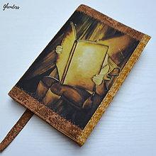 Papiernictvo - Univerzální obal na knihu - Malý čtenář - 11196755_