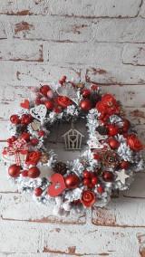 Dekorácie - Vianočný veniec - 11197764_