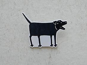 Odznaky/Brošne - Štekám ! - 11199017_