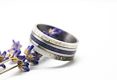 Prstene - Prsten Lapis lazuli + Parožie - 11198905_