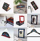 Krabičky - Ručne maľovaná šperkovnica Anna Hindeloopen - 11195581_