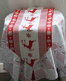 Úžitkový textil - Vianoce. Dlhá tkaná vianočná štóla. - 11197525_