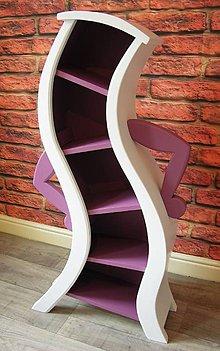 Nábytok - dance bookcase - 11195984_