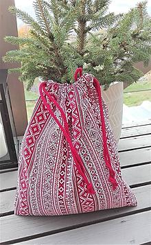 Iné tašky - Bavlnené vrecko na papučky, úbor, pyžamko..cestovanie... - 11197697_