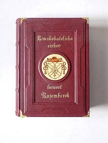 Papiernictvo - Cirkevná kronika s kazetou - 11196486_