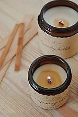 Svietidlá a sviečky - NOVINKA! Drevený knôt s efektom praskajúceho dreva - 11197789_