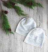 Úžitkový textil - Nákupné vrecúško - biele - 11197720_