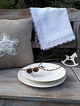 Úžitkový textil - Ľanový obrus Desire - 11198785_