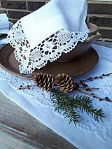 Úžitkový textil - Ľanový obrúsok Desire - 11198854_
