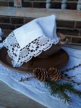 Úžitkový textil - Ľanový obrúsok Desire - 11198855_
