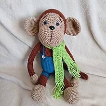 Hračky - Opica Cyril - 11200995_