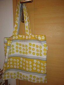 Nákupné tašky - Žluťásek - KONKURUJEM IGELITKE - 11201461_
