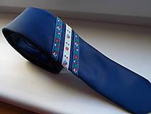 Doplnky - Folklórna kravata / slim / - 11202569_