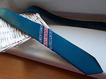 Doplnky - Folklórna kravata / slim / - 11202571_