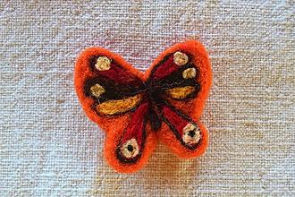 Odznaky/Brošne - Brošňa motýlik - 11199954_