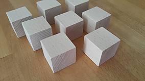Polotovary - Malé kocky na dotvorenie - 11201750_