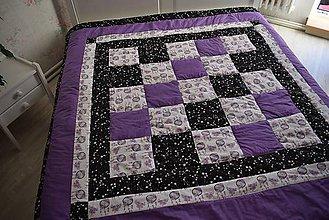 Úžitkový textil - PATCHWORKOVÁ DEKA - 11200401_