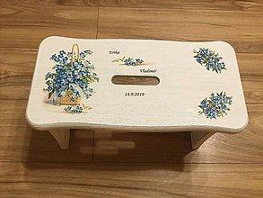Nábytok - Svadobný stolček - 11201878_