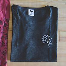 Tričká - Bylinkové tričko dámske - baza - 11202205_