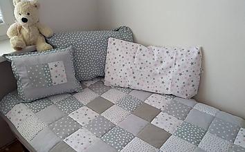 Úžitkový textil - Prehoz Sivo-biely - 11199373_