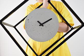 Hodiny - Betónové hodiny - PURE 30 (verzia 4) - 11199501_