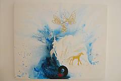 Obrazy - Podkova ako brána šťastia - 11199278_