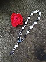 Iné šperky - Magnezitový ruženček z chirurgickej ocele - 11200443_